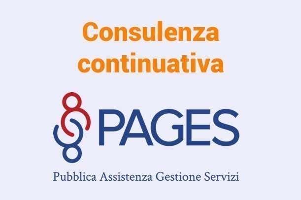 Consulenza continuativa per Pages: branding e marketing