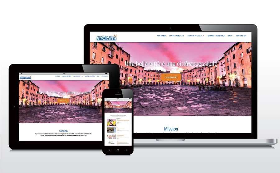 Sito web: Luccasenzabarriere