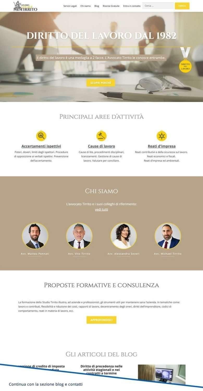 sito web studio legale