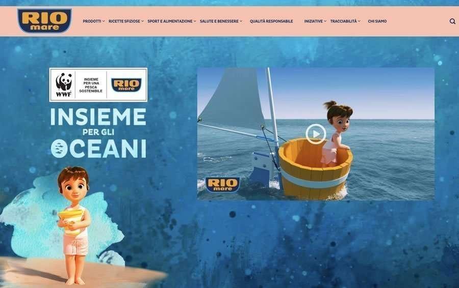 Esempio di storytelling con il tonno Rio Mare