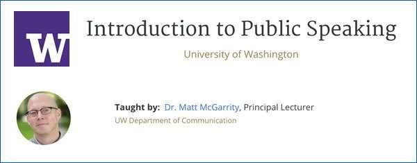 public speaking corso