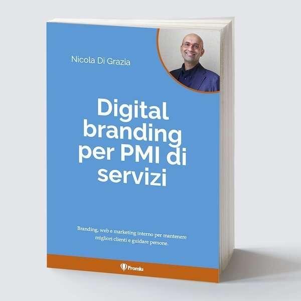 Libro di digital branding per PMI di servizi