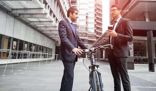 bicicletta e professionisti