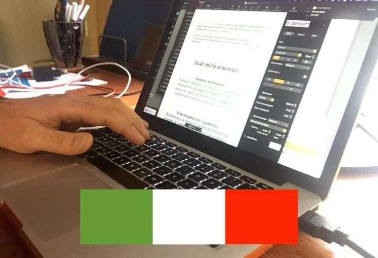 italian copywriting