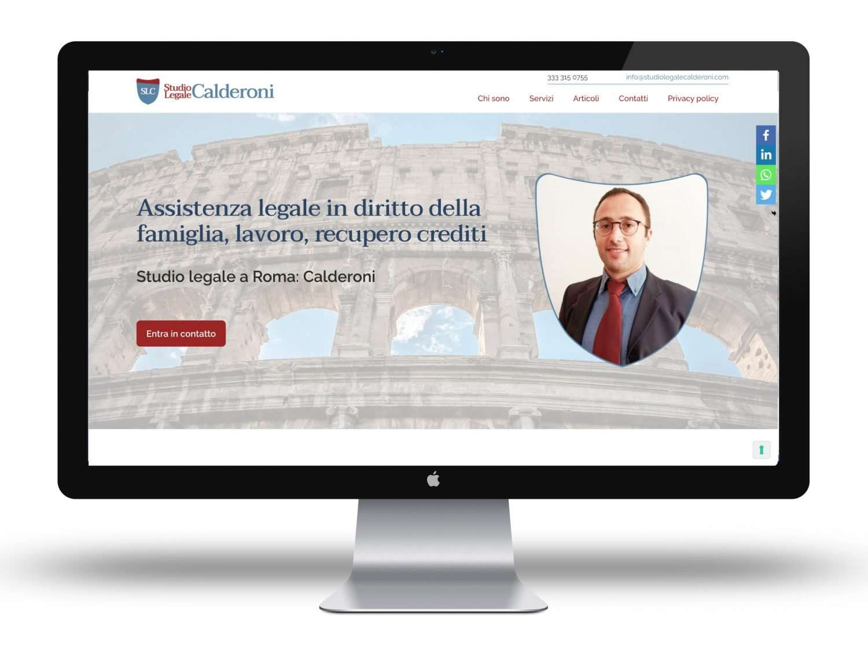 sito avvocato Roma